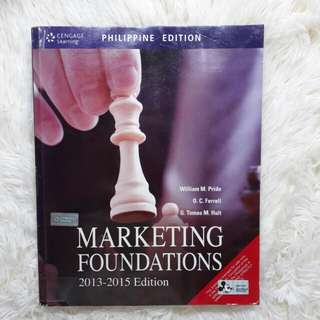 Marketing Foundations by Pride, Ferrell and Hult (2013-2015)