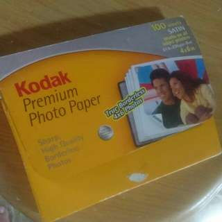 Fast Deal $1 off! Kodak Premium Photo Paper