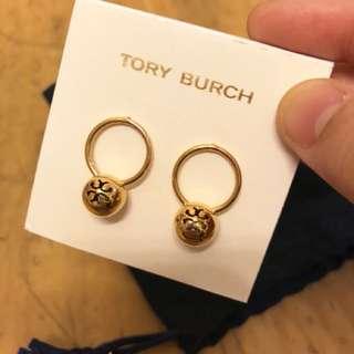 Tory Burch 耳環,保証真品,美國買,限定款,介意勿拍