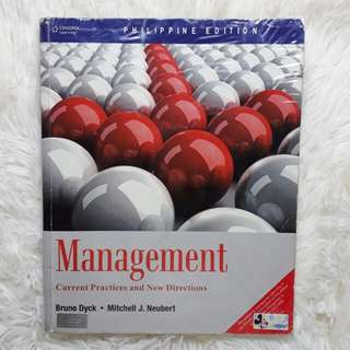 Management by Dyck and Neubert (Philippine Edition)