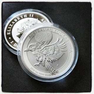 2018 Silver Kookaburra Coin Australia