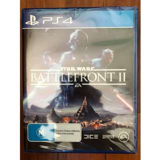 WTS: BNIB Star Wars Battlefront II (PS4)