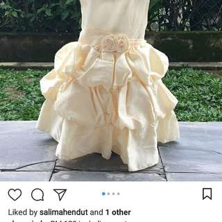 New princess dress for aqiqah and other occasions