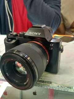 Sony A7 + 50mm F1.8 Kredit Kamera Tanpa CC