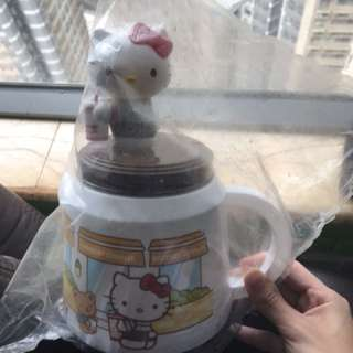 中古hello kitty 水壺