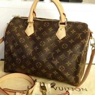 Louis Vuitton SpeedyB Monogram MM