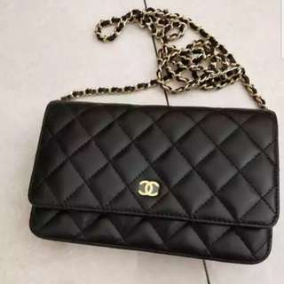 Send off to customer! Chanel WOC Lambskin