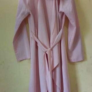 cardigan baby pink