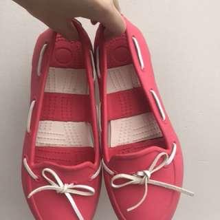 Pink Boat Shoes - Super Cute