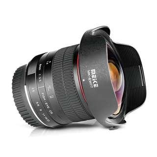Meike 8mm F3.5 Ultra Wide Manual Fisheye Lens for Canon EF Mount DSLR