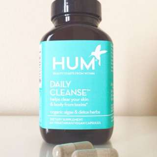 HUM Nutrition Daily Cleanse Supplement