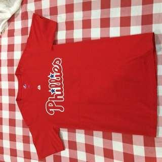 Majestic Philadelphia Phillies Jersey shirt size Large