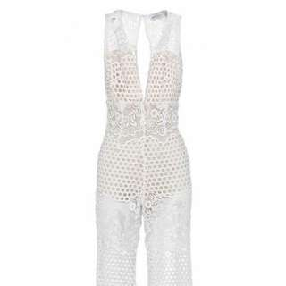 Alice McCall Romantics Jumpsuit White