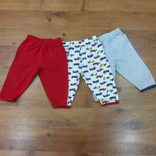 3 for RM30 - Mothercare Long Pants