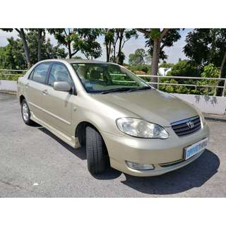 Valued for money Toyota Altis