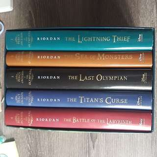 Book: Hardcover - Percy Jackson & The Olympians The Complete Series