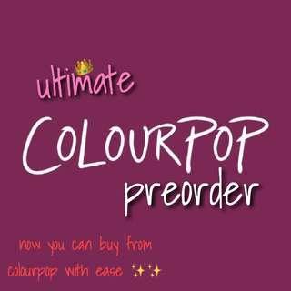 [PO] Colourpop
