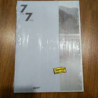 GOT7 7 FOR 7 Present Edition Album ONLY Mark Lyric Book