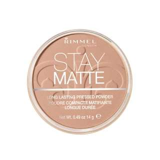 [INSTOCK] [SALE] Rimmel Stay Matte Pressed Powder (Creamy Beige)