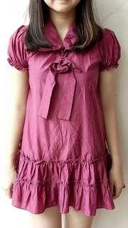 Raspberry Party Dress