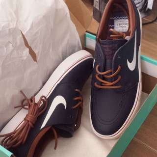 Janoski triple white and obsidian