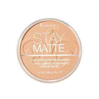 [SOLD OUT] [SALE] Rimmel Stay Matte Pressed Powder (Nude Beige)