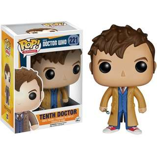 Funko Pop Doctor Who 221 Tenth Doctor