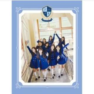[PO] Fromis_9 To. Heart 1st Mini Album (Blue/Green ver)