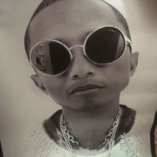 Pharrell Williams/Lily-Rose Depp x Chanel Poster