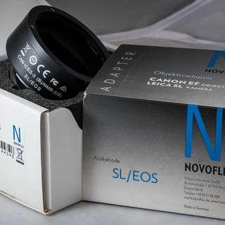 Novoflex Canon EF Lens to Leica L-Mount Camera Electronic Adapter