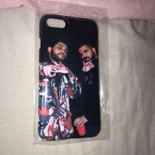 Drake & the weeknd iPhone 7 case