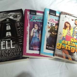 Wattpad Books/ Pop Fiction