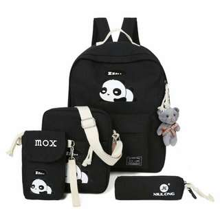 BACKPACK FASHION PANDA (TANPA BONEKA)