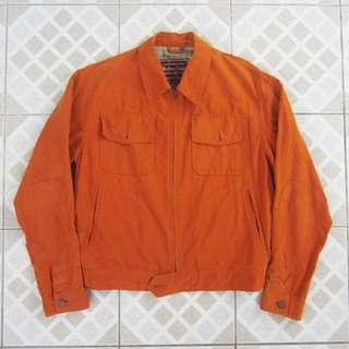 Vintage Marlboro Classics Orange Denim Jacket