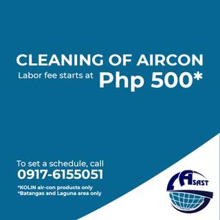 KOLIN Aircon Cleaning