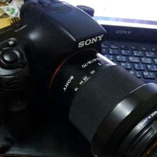 Sony a57單眼相機 機身加鏡頭