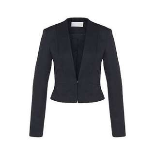 Hugo Boss Jalyna Navy Short Blazer