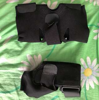 Knee and ankle guard