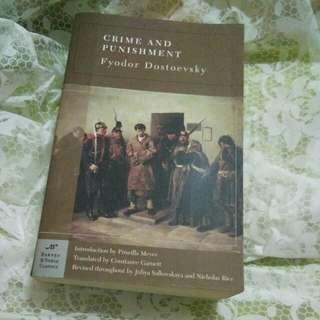 Classic book: Crime and Punishment