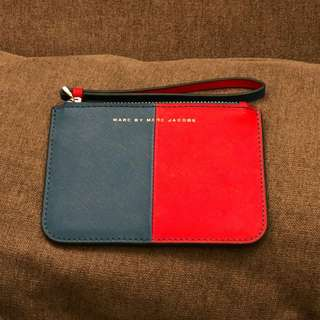 95% New Marc by Marc Jacobs Saffiano Leather Pouch