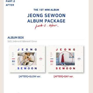 [PO] Jungsewoon - After 1st Mini album Part.2