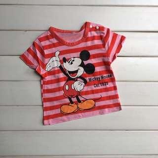 Mickey Red Tee (1y hingga 4y)