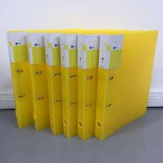 Set 6pcs A4 D-ring files