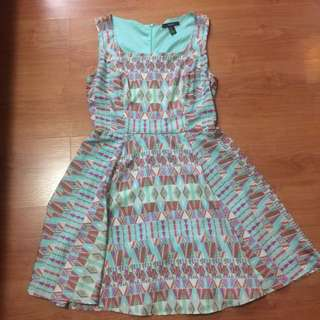 Forever 21 Aztec Print Dress (medium)