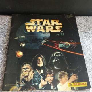 Star Wars Sticker Album Book By Panini Vintage 1997
