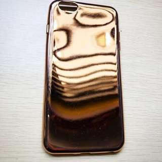 Iphone 6/6s gold mirror case casing