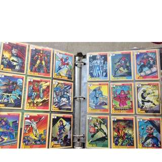 Impel Marvel Cards 1991