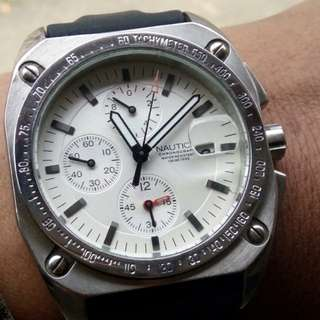 Jam Nautica Chronograph Preloved