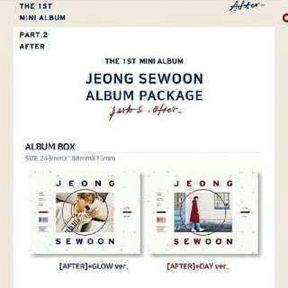 "JEON SE WOON - 1ST MINI ALBUM ""AFTER"""
