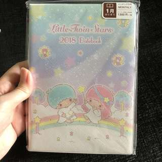 Instock japan Sanrio Little Twin Star 2018 schedule book planner
